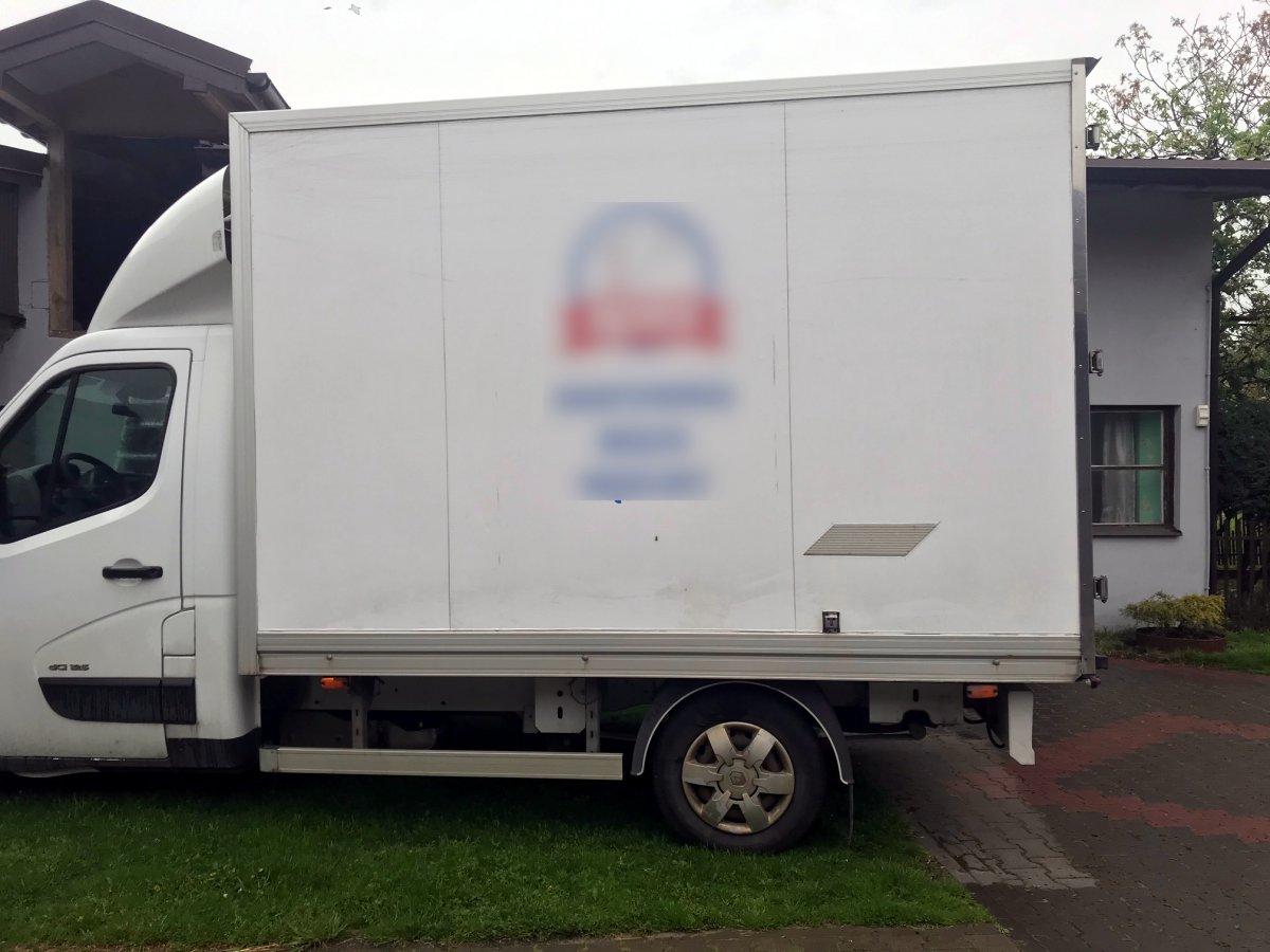 Kontener chłodnia izoterma z agregatem Carrier Renault Master Movano Nissan