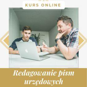 Redagowanie pism - kurs online