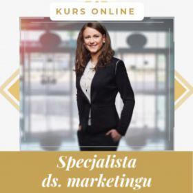 Specjalista ds marketingu - kurs online