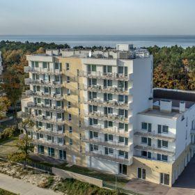 Apartament Mielno-Holiday*401 nad samym morzem.